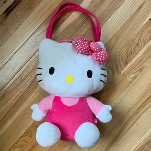 Hello Kitty Plush Bag